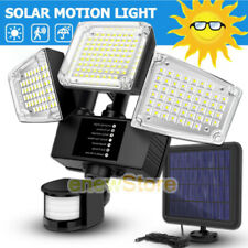 20000LM Outdoor Solar Light Motion Sensor Garden Street Wall Lamp Sunlight Flood