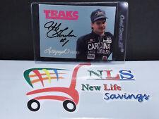 1992 Traks Autograph Series Jeff Gordon A7 Rookie Card