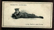 Tobacco Card, Imperial Canada, INFANTRY TRAINING, 1915, Musketry Exercises, #35