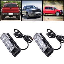 1x 4 LED Car Emergency Beacon Light Bar 12 Flashing Mode 4W 12V led Strobe light