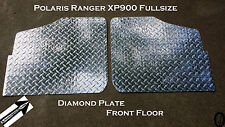 Polaris Ranger XP900 Fullsize Highly Polished Diamond Plate Floor 2013 and up