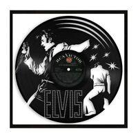 Elvis Presley Vinyl Wall Art Music Bands and Musicians Themed Souvenir Framed