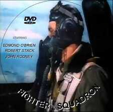 Fighter Squadron (1948) dvd comes in a plastic sleeve and dvd printed on