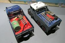 1.50 SCALE HANDCRAFTED ROPED AND SHEETED LOADS X 2 FOR THE SCAMMELL CONSTRUCTOR