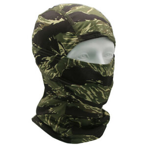 Tactical Hunting Camouflage Balaclava Army Face Mask Shield Neck Gaiter Cover