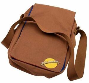 Superman Daily Planet Reporter Messenger Bag Culture Fly Crossbody 80th Rare NWT