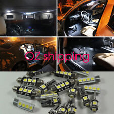 Error Free White 12 LED Interior Light Kit For vw Jetta golf mk5 MK6 2006-2016