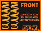 HOLDEN COMMODORE VT/VX/VY/VZ WAGON SPORT FRONT 30mm LOWERED COIL SPRINGS