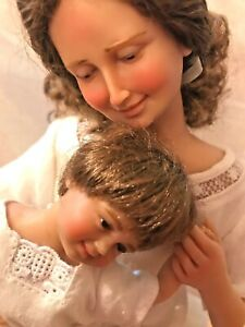 Mother and Child resin doll set by Rosemary Volpi for Goebel of North America