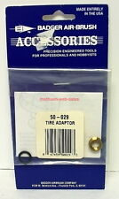 Badger~Airbrush Accessories~50-029~Tire Adaptor~NOS~OOP