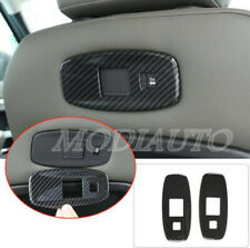 FOR 2020 Land Rover Defender ABS carbon Seat back USB interface panel cover 2x