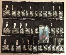 36 Packs From Box OZZY OSBOURNE Trading Cards - Black Sabbath - Brand New