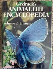 Grzimek's ENCYCLOPEDIA #2 Bugs/INSECTS/Beetles/Bugs/Butterflies MORE 1975 L@@K!