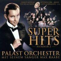 MAX RAABE & PALAST ORCHESTER - SUPERHITS 2  CD 9 TRACKS POP NEW