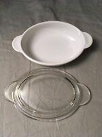 Corning Ware Oval Grab-It Casserole Dish with glass lid P-14-B