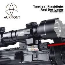 Cree XML1200LM Tactical Scope Mount Light Lamp Red Dot Laser Gun Air Rifle Torch