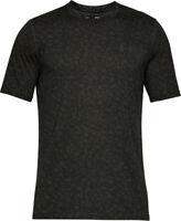 Under Armour UA camo khaki green training poly Short-sleeved T-Shirt S M L XL