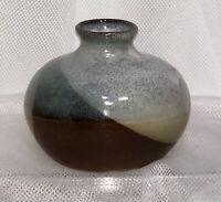 "MCM Pottery Craft USA Handcrafted Stoneware BUD VASE 3"" Robert Maxwell P C PC"