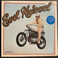 RARE~EVEL KNIEVEL~AMHERST RECORDS~AMH-1001 PROMO GATEFOLD.  *STILL SEALED*