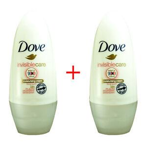 02745 Dove Moisturising Cream Antiperspirant x2 Travel Size 48hr 100ml