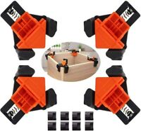 4 Pack Corner Clamp,Corner Clamps for Woodworking, 90 Degree Right Angle Clamp