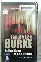 In the Moon of Red Ponies by James L Burke: Unabridged Cassette Audiobook (NN4)