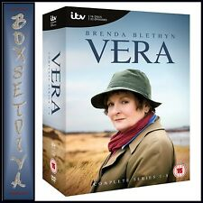 VERA - COMPLETE SERIES 1 2 3 4 5 6 7 & 8 **BRAND NEW DVD BOXSET**