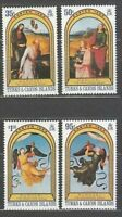 Turk And Caicos - Mail Yvert 623/6 MNH Paintings Of Raphael