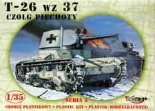 T 26 C / PZ.KPFW C740 (r) - WW II LIGHT TANK (GERMAN & SOVIET MKGS) 1/35 MIRAGE