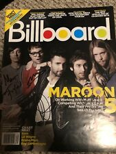 Maroon 5 Signed Autographed Billboard 2010 Magazine Adam Levine Super Bowl 2019