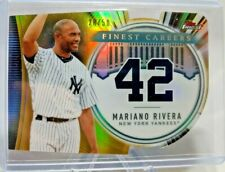 2019 Finest Career Die Cuts Gold Refractor Mariano Rivera 28/50 #FC-MR5 Yankees