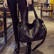 Handbag Women Black Shoulder Bag Large size Crossbody Motorcycle Punk Goty Style