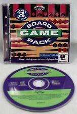 Board Game Pack CD-Rom SoftKey Software Window 95 1997