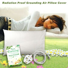 "Earthing Ground Pillow Case For Health & EMF Protection Improves Sleep 20""x28"""