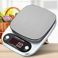 Kitchen LCD 3KG/0.1G Scales Portable Electronic Digital Weighing Tool Stainless