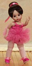 """Madame Alexander 8"""" PIROUETTE IN PINK BRUNETTE 71626 & FREE Doll Stand! NEW!"""