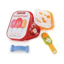 Zoku Social Media Kit  Ice Cream Maker Personalize Pop Maker