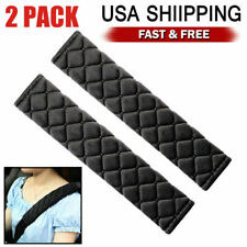 2pcs Car Safety Seat Belt Shoulder Pads Harness Comfortable Pad Cover Cushion Us
