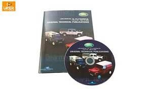 Land Rover Defender 90 DVD - Taller - Técnico & Partes Catálogo