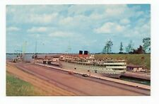 Canada Steamship Lines Steamer St Lawrence Seaway Lock IROQUOIS Ontario CANADA