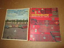 QUATTRORUOTE SPECIALE 1964 EDITORIALE DOMUS AUTO 1963