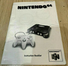 N64 Console Instruction Manual Book