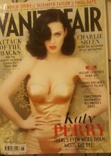 katy Perry*VANITY FAIR *June 2011- untold story of Elizabeth Taylor's final days
