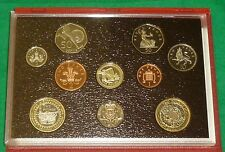 2004 Royal Mint UK Deluxe Proof 10-Coin Year Set Includes Commemoratives