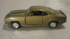 1967 Chevrolet Camaro Z-28 In A Gold 132 Scale Diecast From New Ray    New dc818