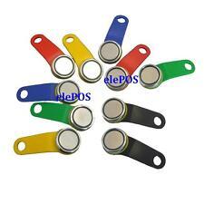 10 x Magnetic Dallas Keys EPOS Fob Fobs Mixed Colors