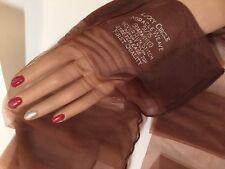 Lucky Circle Black Seam Cuban Heels Vintage Nylon Stockings 10X33 Miracle Weave