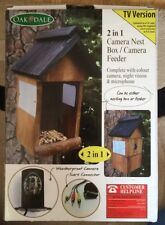 2 In 1 Camera Nest Box / Camera Feeder