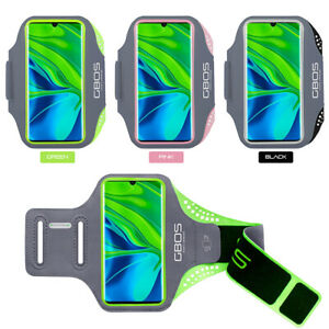 GBOS® Sport Armband Adjustable Jogging Exercise For Redmi Note 7 With Stylus Pen