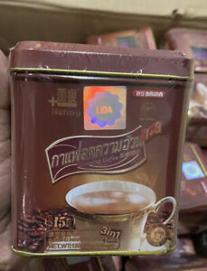 THAI SLIMMING INSTANT COFFEE QUICK FAT BURNER LOSE WEIGHT NATURALLY- 15 Sachets